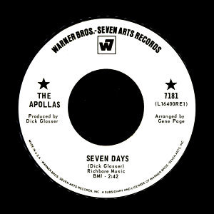 Seven Days / Open The Door, Fool
