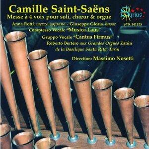 Camille Saint-Saëns: Messe à 4 voix pour soli choeur et orgue