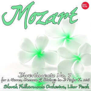 Mozart: Divertimento No. 7 for 2 Horns, Bassoon & Strings in D Major K. 205