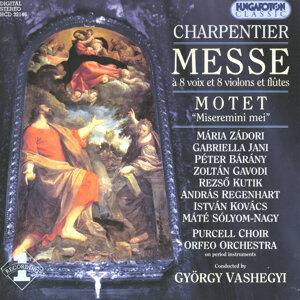 """Charpentier Messe á 8 voix et 8 violons et flûtes, Motet """"Miseremini mei"""""""