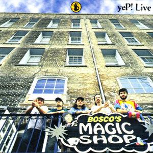 Live: Bosco's Magic Shop