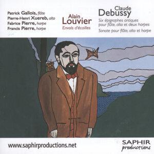 Sonate pour flûte, alto et harpes - Six épigraphes antiques - Envols D'écailles