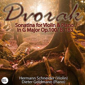 Dvorak: Sonatina for Violin & Piano in G Major Op.100/ B. 183