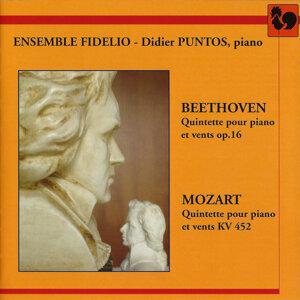 Beethoven: Quintette pour piano et vents Op. 16 – Mozart: Quintette pour piano et vents K. 452