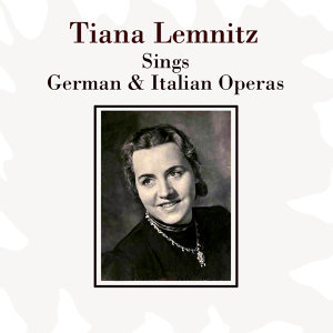 Sings German & Italian Operas