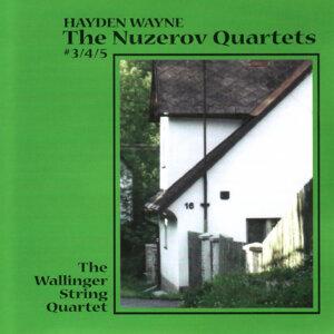 Hayden Wayne-The Nuzerov Quartets #3, 4 & 5