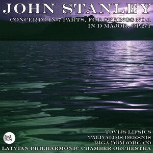Stanley: Concerto in 7 Parts, for Strings No.1 in D major, Op.2/1