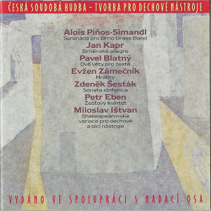 Contemporary Czech Music For Wind Instruments