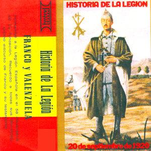 Historia de la Legión, Francisco Franco y Valenzuela, Testamento de Franco