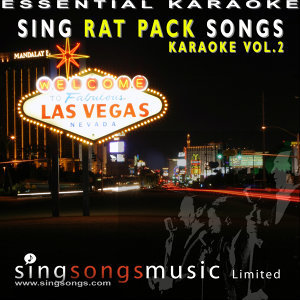 Sing Rat Pack Songs Karaoke Volume 2