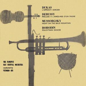 Dukas-Debussy-Mussorgsky-Borodin