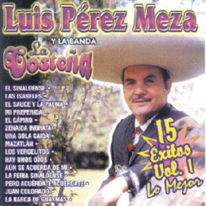 Luis Pérez Meza Y La Banda La Costeña - 15 Éxitos Vol. 1 - Lo Mejor