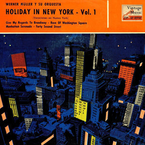 "Vintage Dance Orchestras Nº 122 - EPs Collecto ""Holiday In New York"""