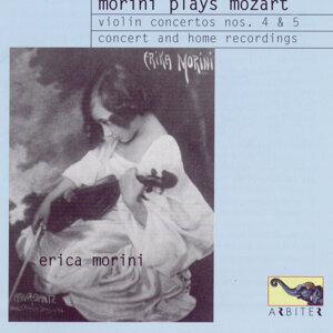 Morini Plays Mozart: Violin Concertos nos. 4 & 5