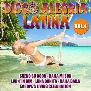 Disco Alegria Latina  Vol. 4