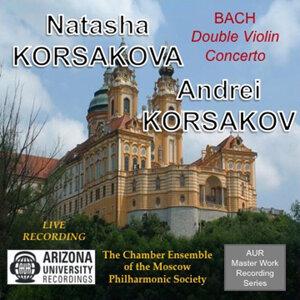 Bach Double Violin Concerto, Natasha Korsakova & Andrei Korsakov