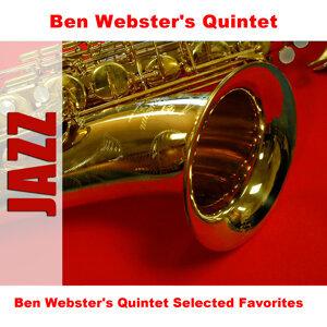 Ben Webster's Quintet Selected Favorites