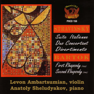 STRAVINSKY/BARTOK works for Violin and Piano
