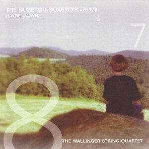Hayden Wayne-The Nuzerov Quartets #6, 7 & 8