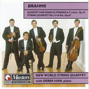 Brahms : Quintet in F-Minor & String Quartet No.3