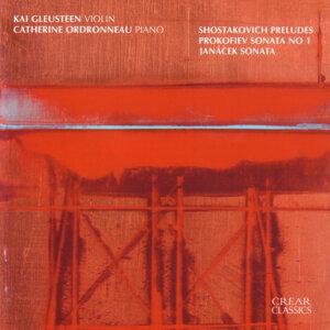 Shostakovich: Preludes / Prokofiev: Sonata No. 1 / Janáček: Sonata