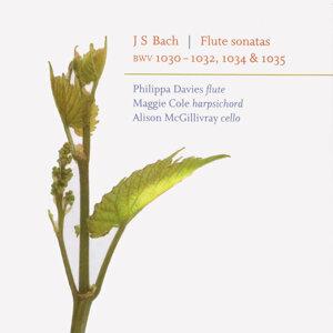 J. S. Bach - Flute Sonatas - Philippa Davies - Maggie Cole - Alison McGillivary