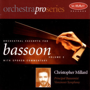 Orchestral Excerpts for Bassoon:  Volume 2
