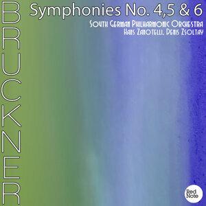 Brucker: Symphonies No. 4,5 & 6