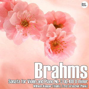 Brahms: Sonata for Violin and Piano No. 3 in D Minor Op.108