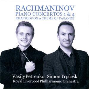 Rachmaninov: Piano Concertos 1 & 4 - Rhapsody on a Theme of  Paganini