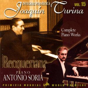 Joaquin Turina Complete Piano Works Vol 15 Becqueriana