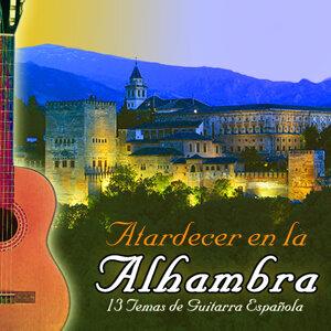 Atardecer En La Alhambra Con Guitarra Española