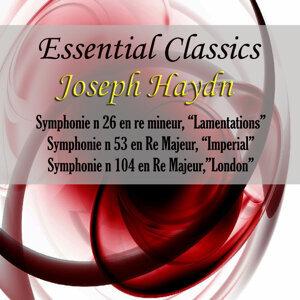 "Essential Classics Joseph Haydn Symphonie No. 26 En Re Mineur ""Lamentations"" & Other Works"
