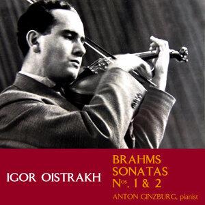 Brahms Sonatas Nos. 1 & 2
