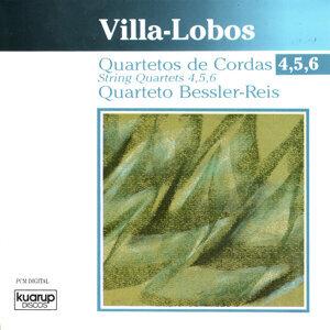 Villa-Lobos: String Quartets 4, 5, 6