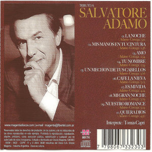 Tributo a Salvatore Adamo