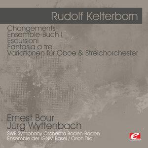 Kelterborn: Changements - Ensemble-Buch I - Escursioni - Fantasia a tre -Variationen für Oboe & Streichorchester