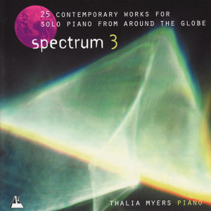 Spectrum 3 - 25 Contemporary Works for Solo Piano from Around the Golbe