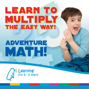 Adventure Math - Learn to Multiply the Easy Way!