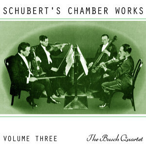 Schubert's Chamber Works Volume 3