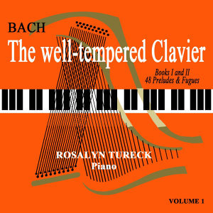 The Well-Tempered Clavier Volume 1