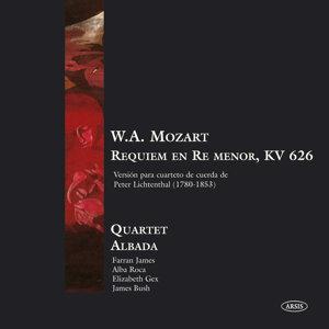 W.A. Mozart - Réquiem en Re Menor KV 626, Versión para Cuarteto de Cuerda de Peter Lichtenthal