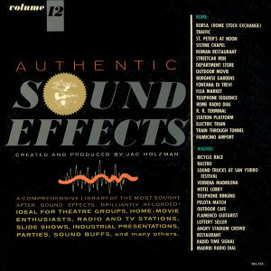 Authentic Sound Effects - Vol. 12