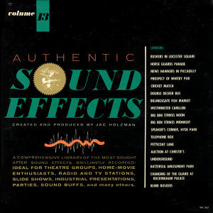 Authentic Sound Effects - Vol. 13