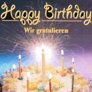 Happy Birthday - wir gratulieren - Playback