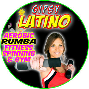 Gipsy Latino. Aerobic Rumba Fitness Spinning & Gym