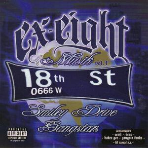 "Triple 6 Gangstars ""Ex-Eight Musik Vol. 1"""
