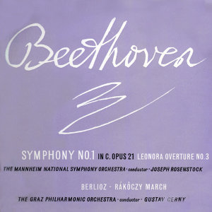 Beethoven Symphony No 1 In C, Opus 21