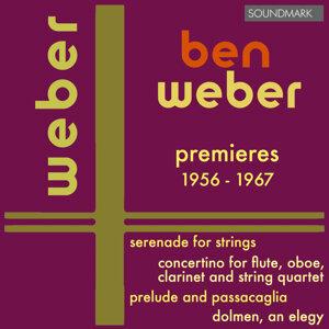 Ben Weber: Orchestral Premieres - 1956-1967