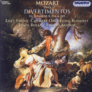 Mozart, Two Divertimentos in D Major K.334 & 205